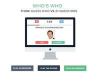 Who's Who App