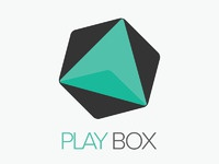 Playbox logo concept with alternative 2