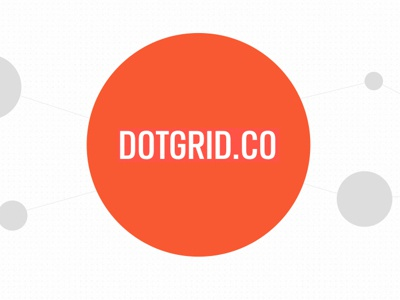 DOTGRID.CO Redesign ui ecommerce web design redesign