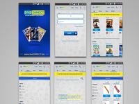 DVD Direct Mobile App Ui Design