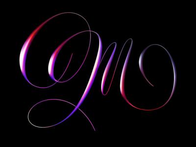 M Chrome type