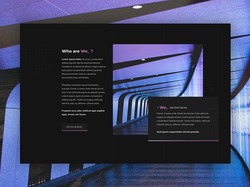 We_ web design corporation corporate design website ux ui