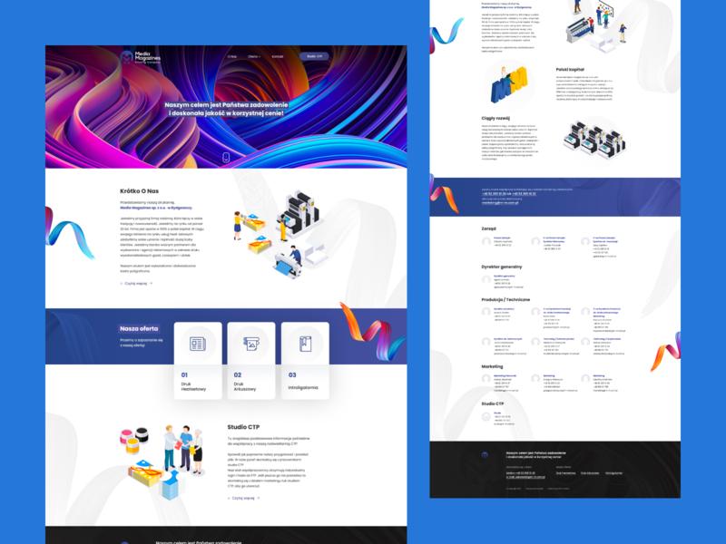 Media Magazines typography printhouse webdesign design ux ui