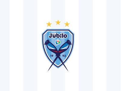 Jubilo Iwata identity club japanese culture nippon japan soccer football creative sports logo design branding