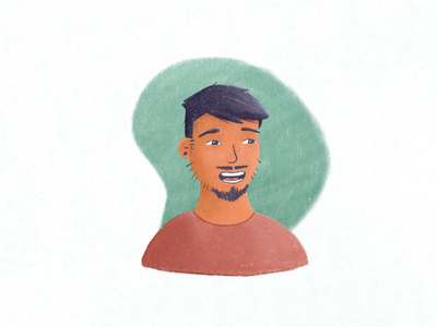 Profile pic drawing sketch brush character portrait ipad procreate avatar picture profile