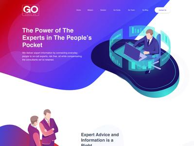 Go Cards Web Design UI/UX branding website web ux ui design