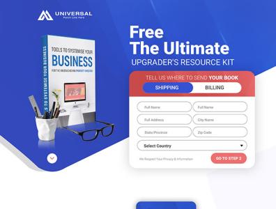 Universal Website Design branding website web ux ui design