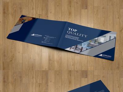 Landscape Brochure Design branding design