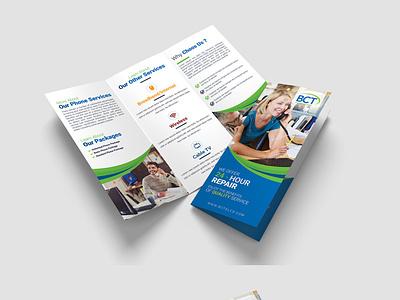 Tri-Fold Brochure Design branding design