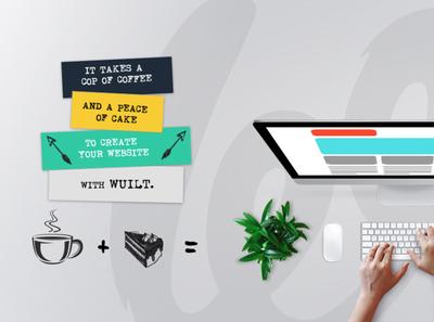 Wuilt Facebook Cover Page social media branding design