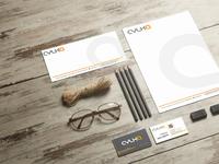 CYLKA stationery mockup typography vector logo branding design