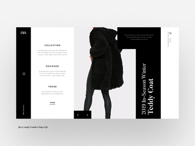 Fashion Website Concept 01