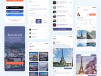 MUST - Social Network clean minimal userinterface mobile ios interaction app social network social
