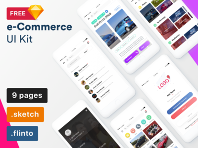 e-Commerce UI Kit