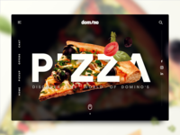 Domino Pizza - Discover Page