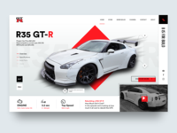 Nissan GTR - B is for Build