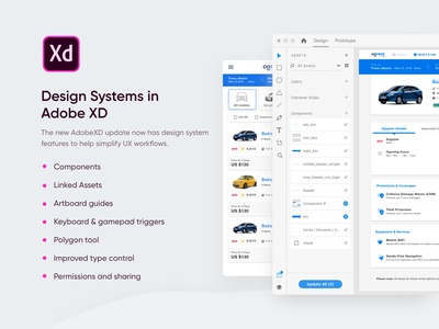 Adobe XD Design System design clean daily interaction ios userinterface interface app ux ui designsystem adobexd madewithxd adobepartner