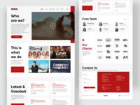 Creative Content Company - Spoke Studios team clients contact news movie landingpage spokestudios minimal clean userinterface design interface interaction ux ui agency