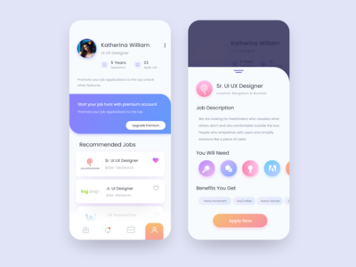 Job Portal App UI
