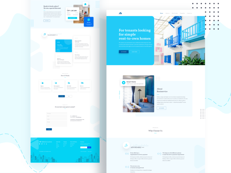 House rent service exploration uxdesign uxui 2020 trend landingpage popular webdesign trendy minimal branding uidesign ui interface icons service homepage