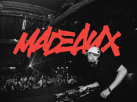 Logo for Madeaux. New BEHANCE Project. Check it
