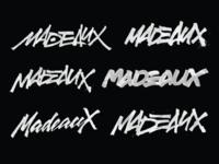 Logo variants for Madeaux
