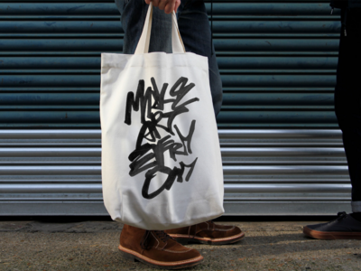 Make art everyday Tote Bag