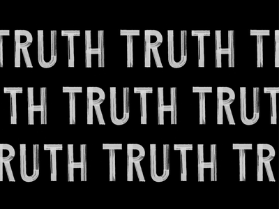 TRUTH TRUTH TRUTH ! font truth graphic  design behance project behance handwritting inspiration logotype hand writting typo typography logo hand lettering handmade font lettering calligraphy