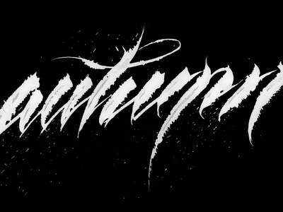 Autumn fashion design print apparel print atmosphere graphic  design autumn behance project colapen handwritting inspiration logotype hand writting typo typography logo hand lettering handmade font lettering calligraphy