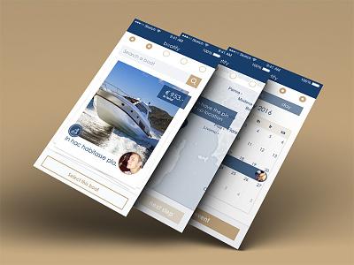 Boatify mobile app responsive app mobile ui