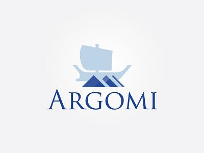 Argomi Logo argo greek business logo