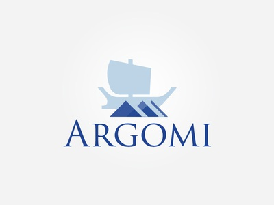 Argomi Logo argo greek business logo