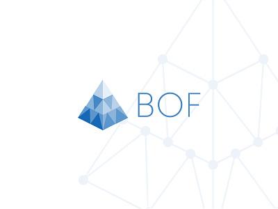 BOF branding logo brand blockchain technologies business intelligence data analysis
