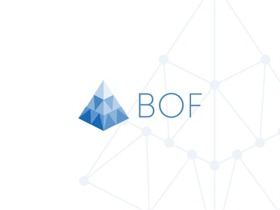 BOF branding logo brand blockchain technologies business intelligence data analysis