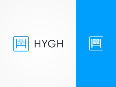 HYGH mark logo identity icon video advertising branding