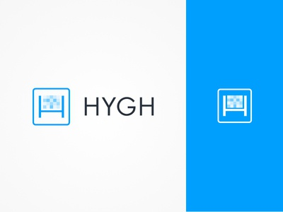 HYGH mark logo identity icon video advertising branding
