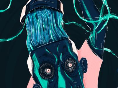 Designers mind 1 - details graphic detail dribbble illustration mind designer