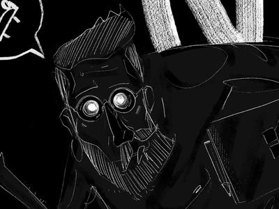 On co noc - details detail drawing dribbble illustration design graphic