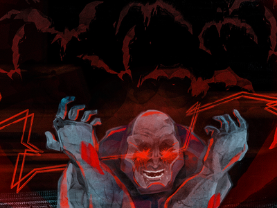 Darkseid - details watercolor drawing dribbble illustration comics dc darkseid