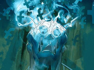 Poisoned Mind poster socialmedia art facebook drawing design graphic illustration