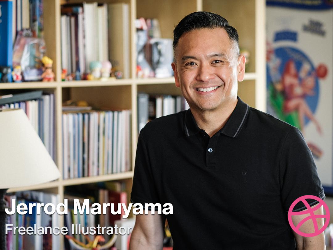 Video Interview: Freelance Illustrator Jerrod Maruyama disneyland disney sacramento illustrator freelance jerrod maruyama dribbble interview