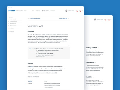 Deveoper Hub UI webdesign design frontend interface user ui