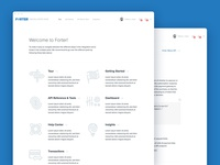 Developer Hub UI