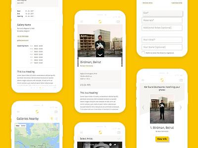 The Art Register userinterface ui webapp app art
