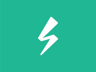 Subbly Brandmark icon subbly lightning thunder brandmark design identity branding brand logo