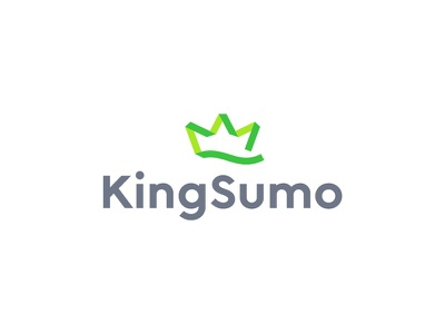 KingSumo Logo brand logo identity design branding