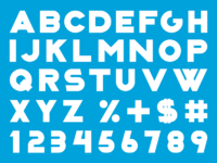 Xtrapop font