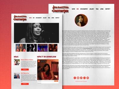 Artiste Website performer artiste singer