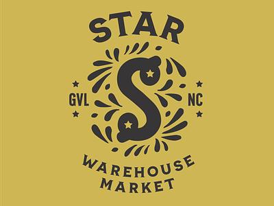 Star Warehouse Market design hospitality logo designer logo design logo brand strategy branding brand identity