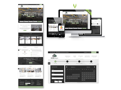 Web design for Hotel